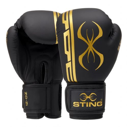Sting Armaplus Boxing Gloves - Black/Gold
